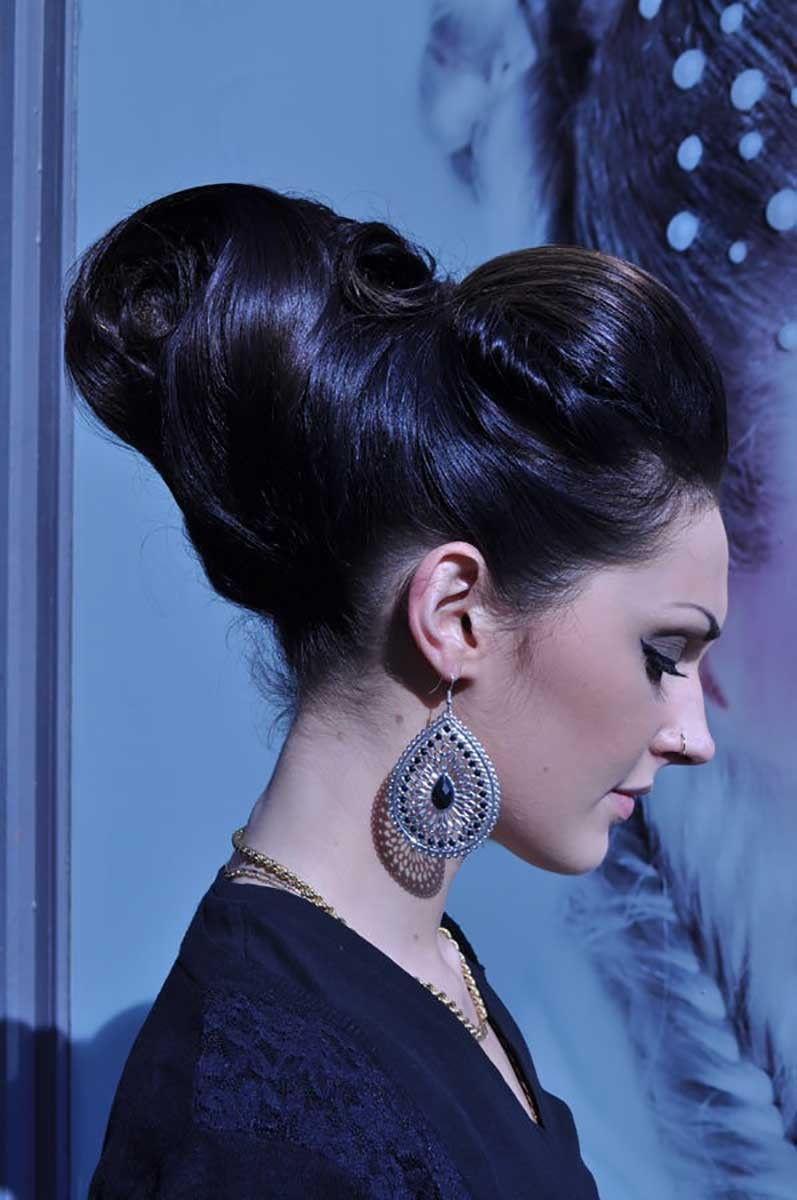 Placement d'un point d'attache et techniques de brillance et fixation.