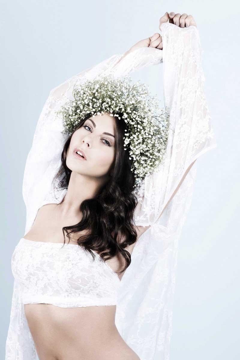 Make-Up naturel : flowers.