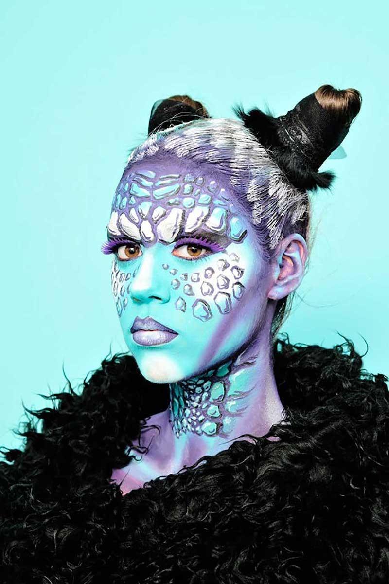Make-Up événementiel : full face.