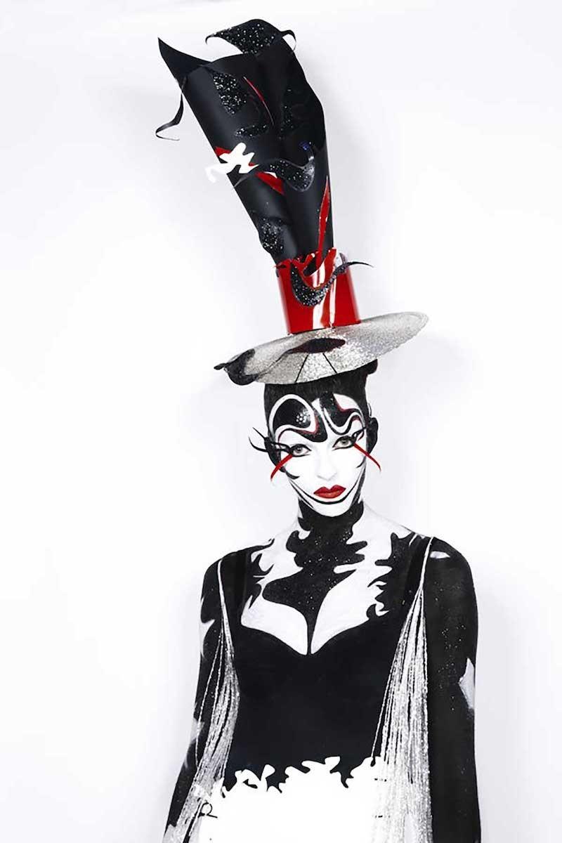 Make-up spectacle vivant : théâtre, opéra, cabaret, lido, comédie musicale.