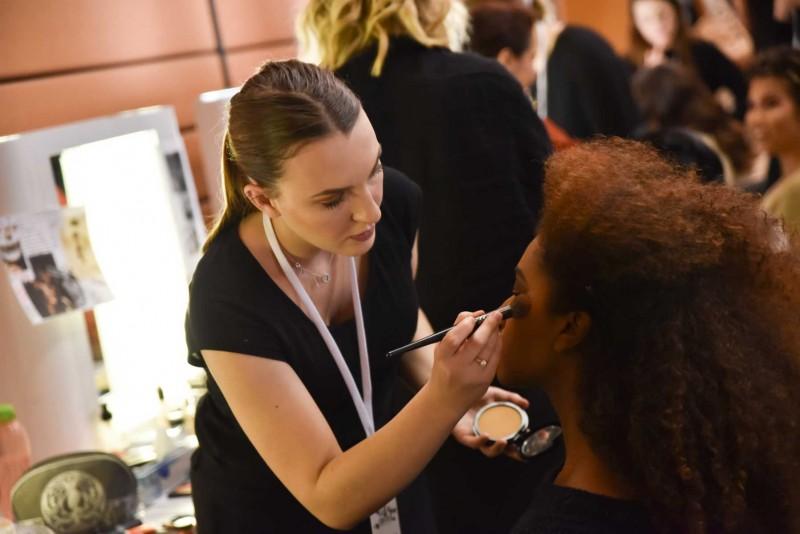 Maquillage Le salon du Chocolat à Lyon.