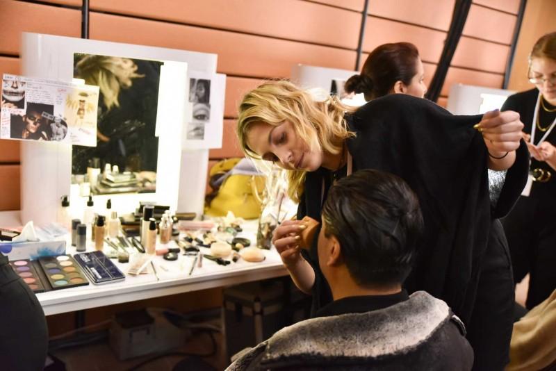 Maquillages et les coiffures salon du Chocolat 2019 à Lyon.
